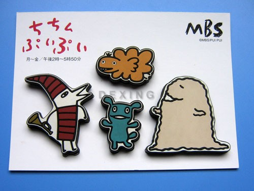 3D Soft PVC Fridge Magnets