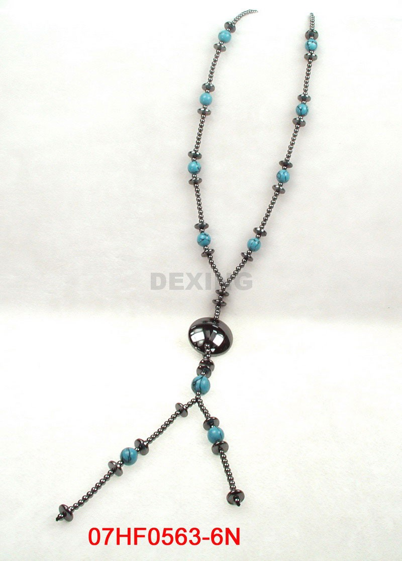 magnetic hematite necklace polished magnet magnetic ankle
